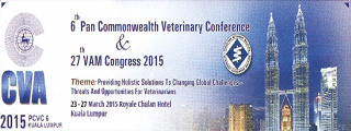 6th Pan Commonwealth Veterinary Conference & 27th VAM Congress 2015