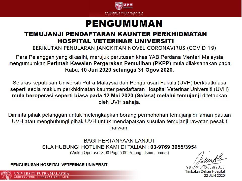 Waktu Melawat Hospital Putrajaya Pkpp