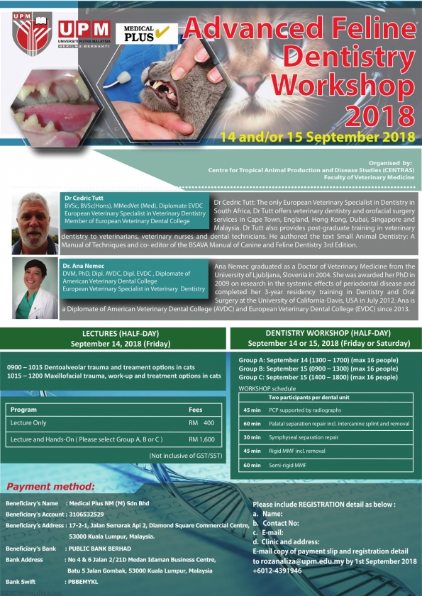 http://vet.upm.edu.my/activities/advanced_feline_dentistry_workshop_2018-15197