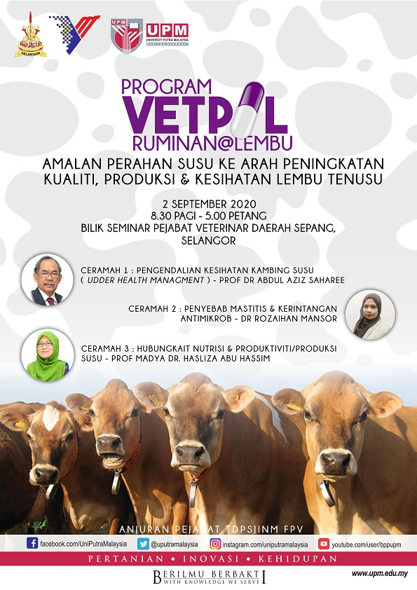 Program VetPil Ruminan@Lembu